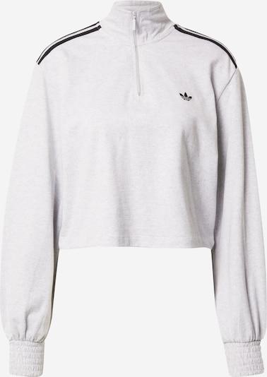 ADIDAS ORIGINALS Sweatshirt in graumeliert / schwarz, Produktansicht