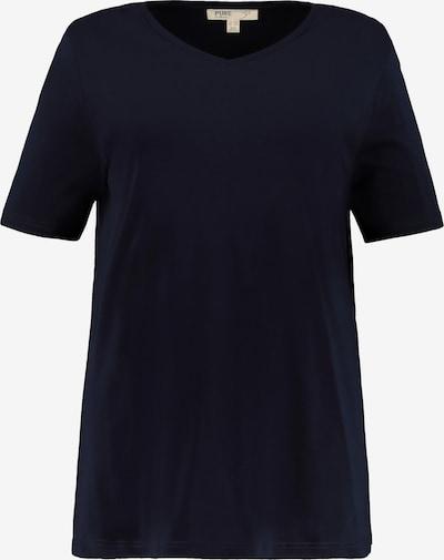 Ulla Popken T-Shirt in nachtblau, Produktansicht