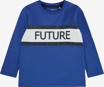 NAME IT Shirt 'Lauge' in Blue