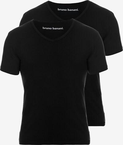 BRUNO BANANI T-Shirt in schwarz, Produktansicht