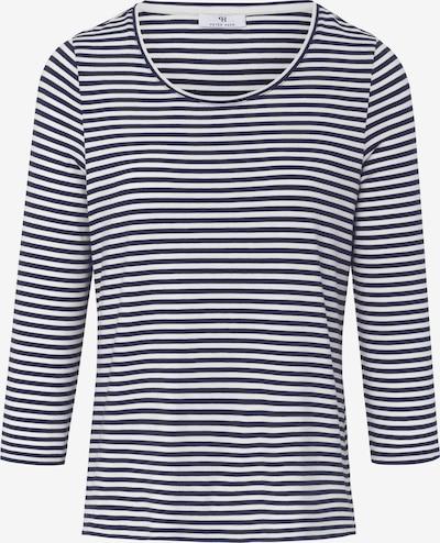 Peter Hahn 3/4-Arm-Shirt in blau / weiß, Produktansicht