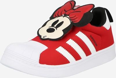 ADIDAS ORIGINALS Sneaker 'Superstar 360' in rot / schwarz / weiß, Produktansicht