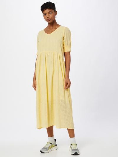 Kaffe Šaty 'Suki' - světle žlutá, Model/ka