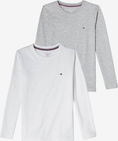 TOMMY HILFIGER Shirt in de kleur Grijs gemêleerd / Wit, Productweergave
