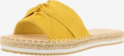 BULLBOXER Pantolette ' 261000F1T ' in gelb, Produktansicht