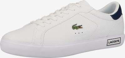 LACOSTE Sneakers in Navy / Green / White, Item view