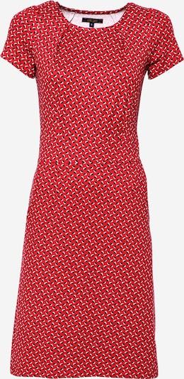 King Louie Robe 'Mona' en rouge vif / noir / blanc, Vue avec produit