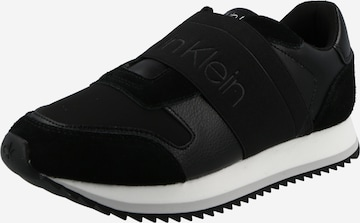 melns Calvin Klein Zemie brīvā laika apavi
