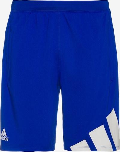 ADIDAS PERFORMANCE Shorts in blau / weiß, Produktansicht