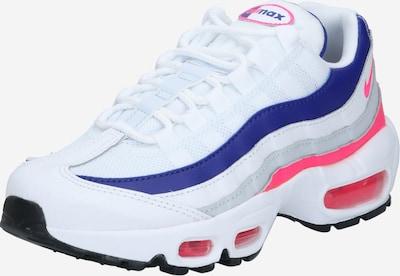 Nike Sportswear Baskets basses en bleu / rose / blanc, Vue avec produit