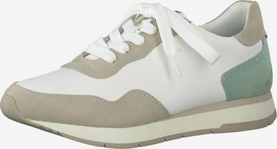TAMARIS Sneakers in Light beige / Mint / White, Item view