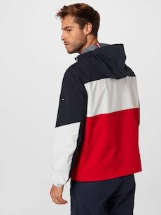 Přechodná bunda značky TOMMY HILFIGER v tmavě modré barvě
