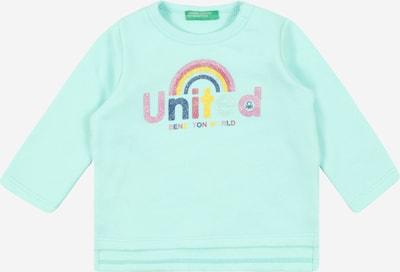 UNITED COLORS OF BENETTON Shirt in jade / mischfarben, Produktansicht