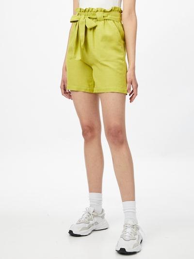 Pantaloni con pieghe 'SMILLA' ONLY di colore canna, Visualizzazione modelli