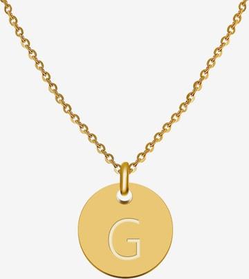 GOOD.designs Kette 'Buchstabenkette G' in Gold