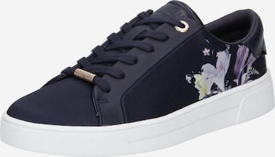 Ted Baker Sneaker low 'Delylan' i navy / lysegul / lyselilla / hvid, Produktvisning