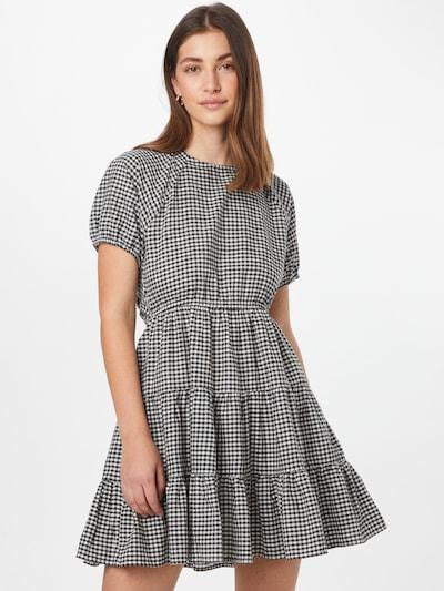 NA-KD Kleid in schwarz / weiß, Modelansicht