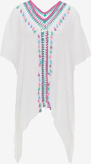 IZIA Tunika w kolorze nefryt / pitaja / białym, Podgląd produktu