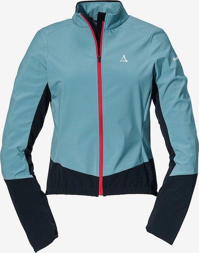 Schöffel Athletic Jacket in Light blue / Black, Item view