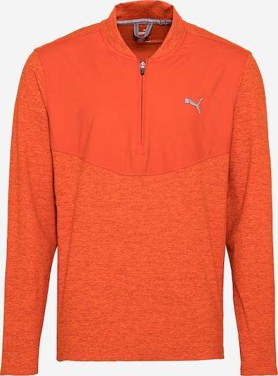 PUMA Camiseta deportiva en gris plateado / naranja, Vista del producto