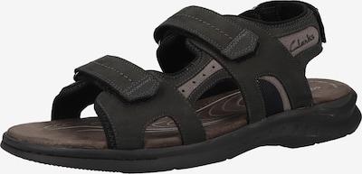 CLARKS Sandale in hellgrau / schwarz, Produktansicht
