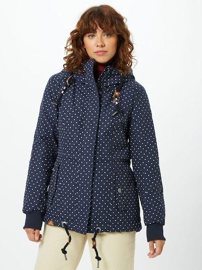 Ragwear Outdoor jakna 'Danka' u mornarsko plava / bijela, Prikaz modela