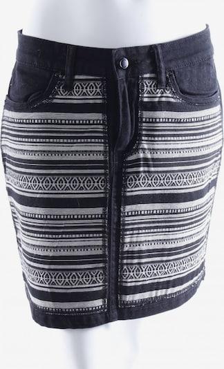 Esmara Jeansrock in M in schwarz / weiß, Produktansicht