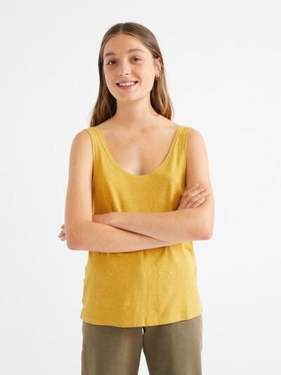 Thinking MU T-Shirt ' Hemp Tank Top ' in senf, Produktansicht