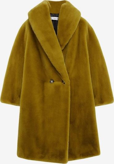 MANGO Преходно палто 'Chilly' в горчица, Преглед на продукта