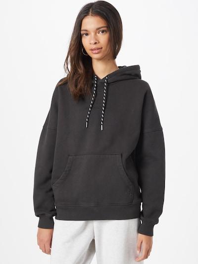QUIKSILVER Sweatshirt in schwarz: Frontalansicht