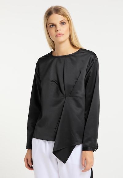 RISA Bluse in schwarz, Modelansicht