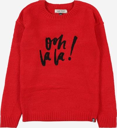 Cars Jeans Pullover 'DAVINA' in rostrot / schwarz, Produktansicht
