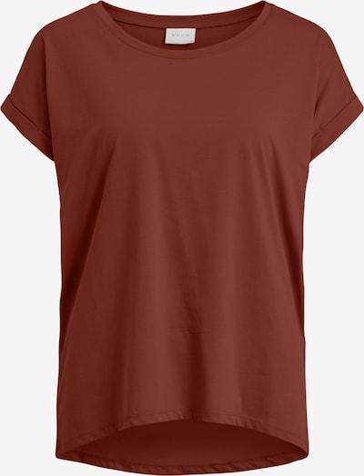 VILA Shirt 'Dreamers' in de kleur Roestrood, Productweergave