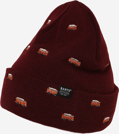 Barts Beanie 'Vinson' in mixed colours / burgundy, Item view