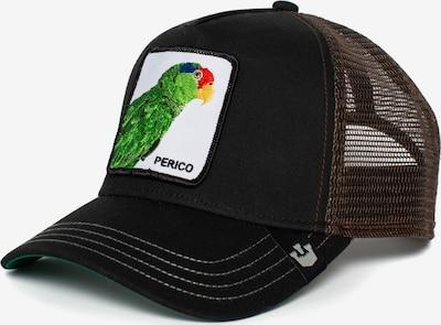 GOORIN Bros. Cap 'Perico' in grün / schwarz / weiß, Produktansicht