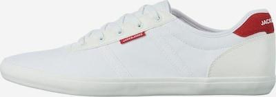 JACK & JONES Sneakers laag in de kleur Donkerrood / Wit, Productweergave