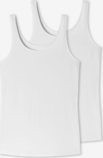 Top '2er-Pack Uncover' SCHIESSER di colore bianco, Visualizzazione prodotti