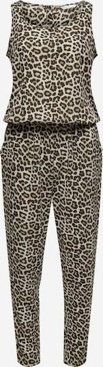 ONLY Jumpsuit in de kleur Beige / Donkerbruin, Productweergave