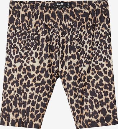 LMTD Leggings 'Feo' in braun / schwarz / weiß, Produktansicht