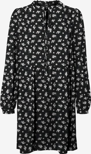 Vero Moda Petite Kleid 'Saga' in stone / schwarz / offwhite, Produktansicht