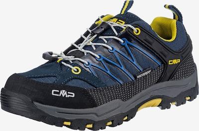 CMP Chaussures basses 'Rigel' en bleu / bleu marine / jaune / noir, Vue avec produit
