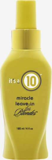 It's a 10 Conditioner 'Miracle for Blondes' in, Produktansicht