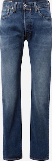 LEVI'S Jeans in blue denim / braun / rot / weiß, Produktansicht