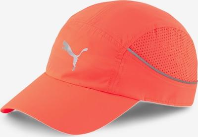 PUMA Sportcap 'Lightweight' in grau / orange, Produktansicht