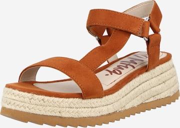 MTNG Sandale 'LYDIA' in Braun