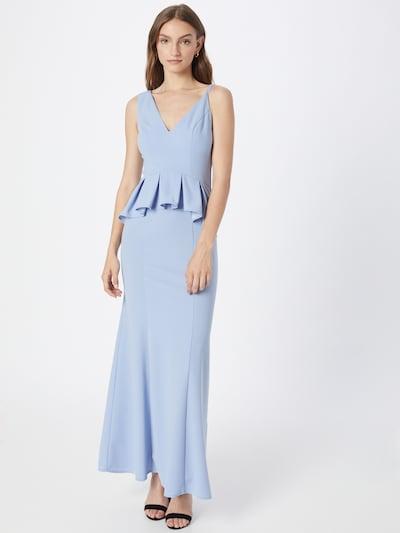 Chi Chi London Kleid in hellblau, Modelansicht
