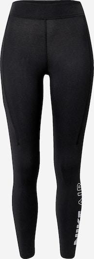 Leggings Nike Sportswear di colore nero / bianco, Visualizzazione prodotti
