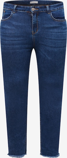 Guido Maria Kretschmer Curvy Collection Jean 'Mala' en bleu foncé, Vue avec produit
