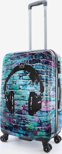 Saxoline Hartschalenkoffer 'Headphone' in mischfarben, Produktansicht