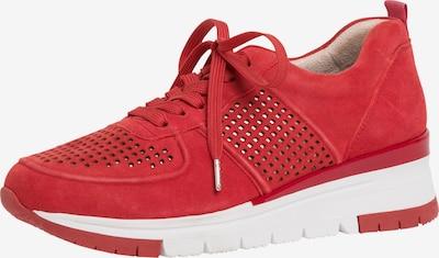 Sneaker bassa TAMARIS di colore rosso sangue, Visualizzazione prodotti